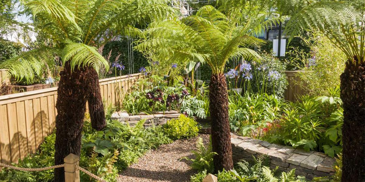 Cornish Garden at Eden Garden