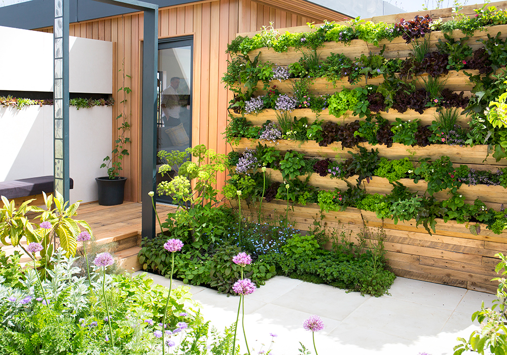 Green Living Spaces at Malvern Spring Festival 2018